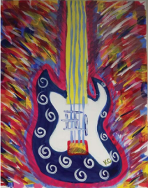 Bass Guitar Lawyer Art
